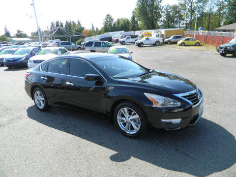 2013 Nissan Altima for sale at J & R Motorsports in Lynnwood WA