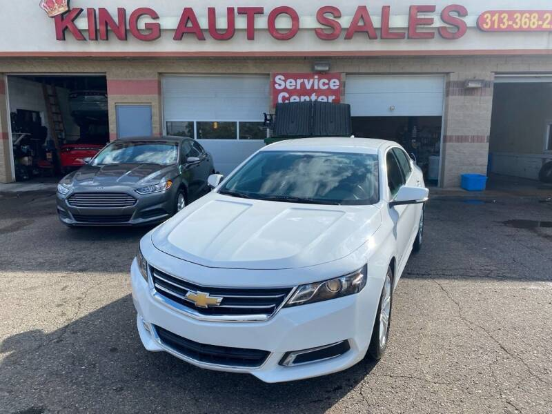 2017 Chevrolet Impala for sale at KING AUTO SALES  II in Detroit MI