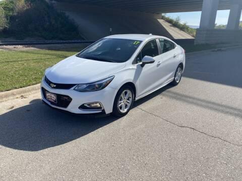 2017 Chevrolet Cruze for sale at Apple Auto in La Crescent MN