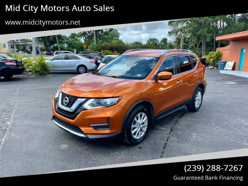 2017 Nissan Rogue for sale at Mid City Motors Auto Sales in Fort Myers FL