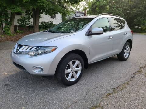 2009 Nissan Murano for sale at Devaney Auto Sales & Service in East Providence RI
