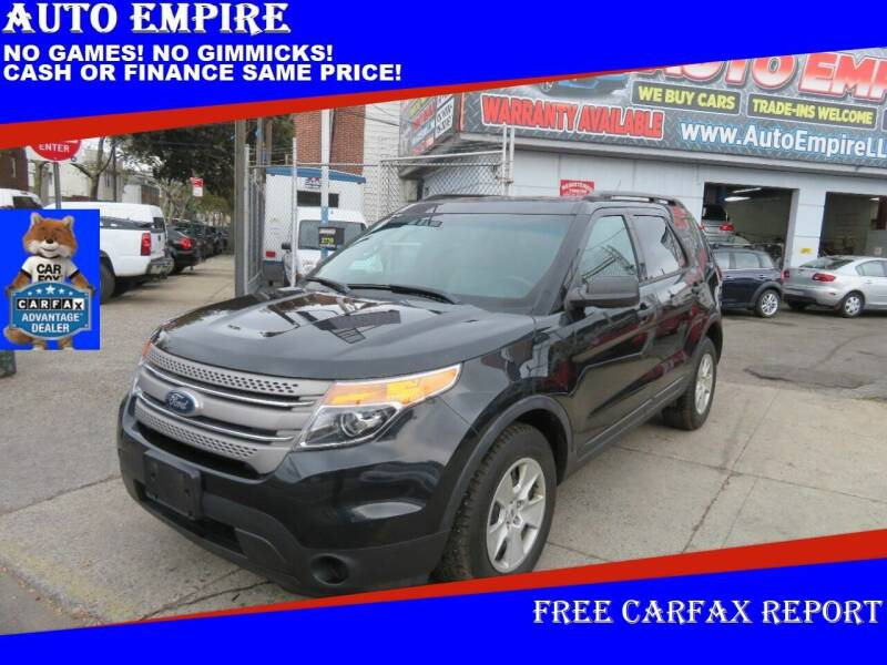 2013 Ford Explorer for sale at Auto Empire in Brooklyn NY