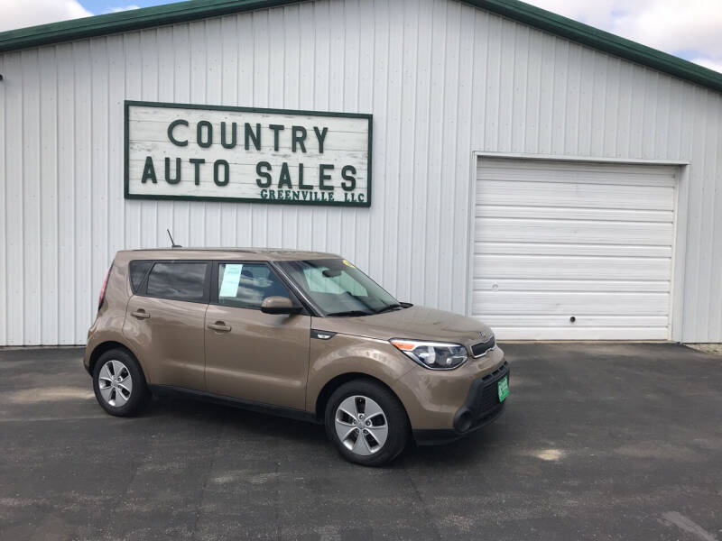 2014 Kia Soul for sale at COUNTRY AUTO SALES LLC in Greenville OH