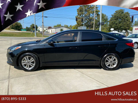 2016 Hyundai Sonata for sale at Hills Auto Sales in Salem AR