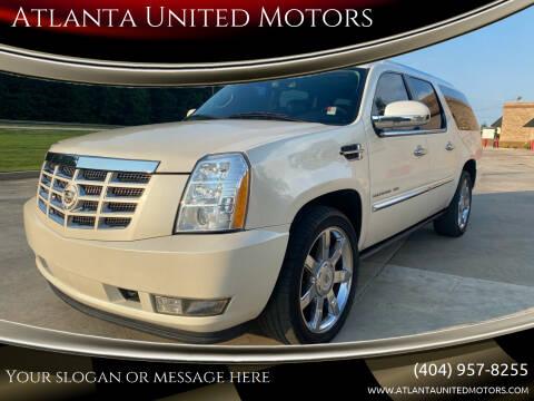 2010 Cadillac Escalade ESV for sale at Atlanta United Motors in Buford GA