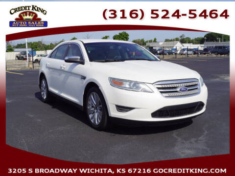 2011 Ford Taurus for sale at Credit King Auto Sales in Wichita KS