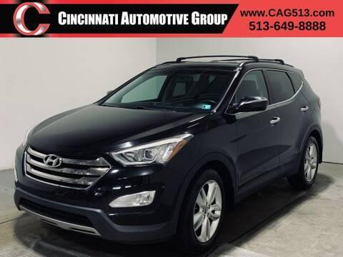 2013 Hyundai Santa Fe Sport for sale at Cincinnati Automotive Group in Lebanon OH