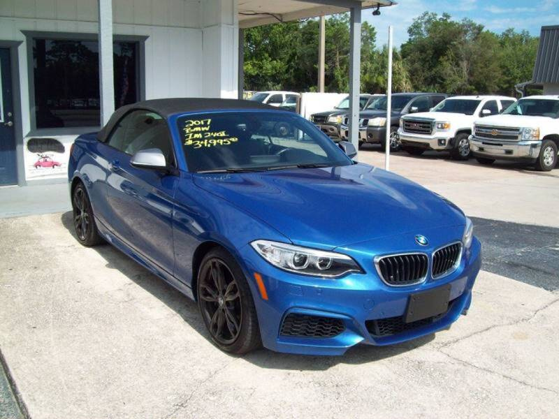 2017 BMW 2 Series for sale at LONGSTREET AUTO in St Augustine FL