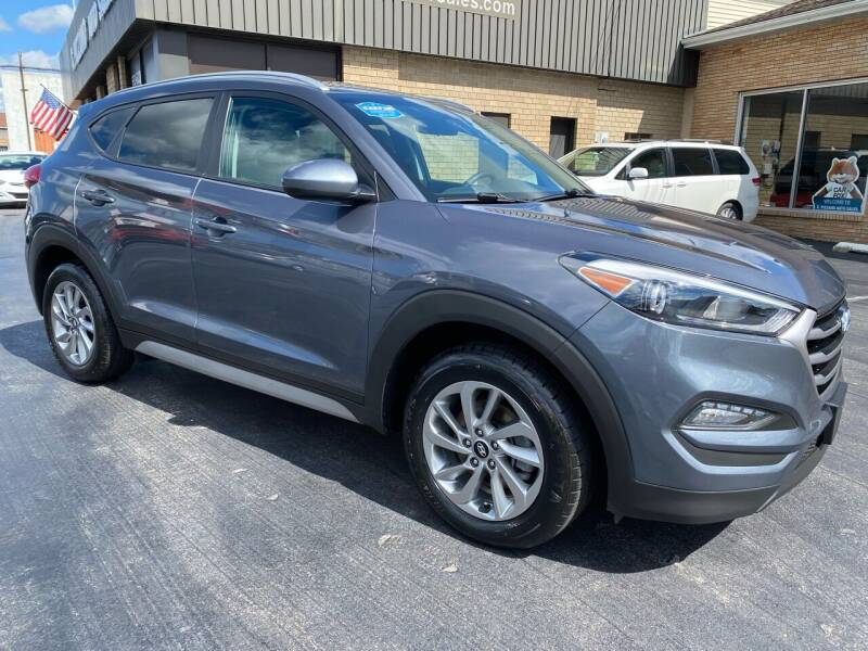 2018 Hyundai Tucson for sale at C Pizzano Auto Sales in Wyoming PA