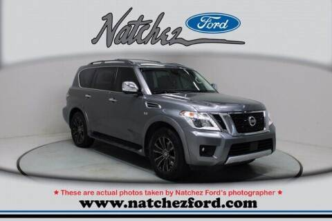 2018 Nissan Armada for sale at Auto Group South - Natchez Ford Lincoln in Natchez MS