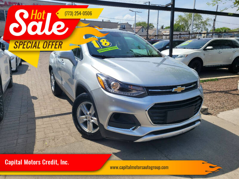 2018 Chevrolet Trax for sale at Capital Motors Credit, Inc. in Chicago IL