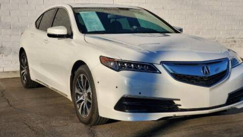 2016 Acura TLX for sale at ADVANTAGE AUTO SALES INC in Bell CA