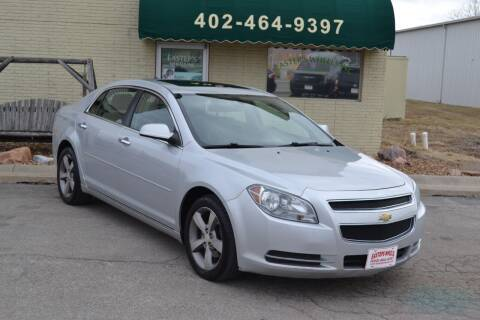 2012 Chevrolet Malibu for sale at Eastep's Wheels in Lincoln NE