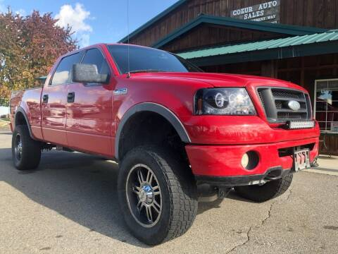 2006 Ford F-150 for sale at Coeur Auto Sales in Hayden ID