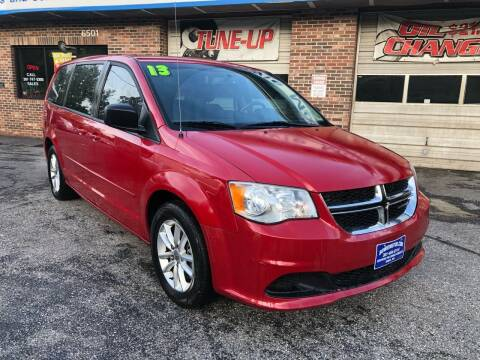 2013 Dodge Grand Caravan for sale at Bowie Motor Co in Bowie MD