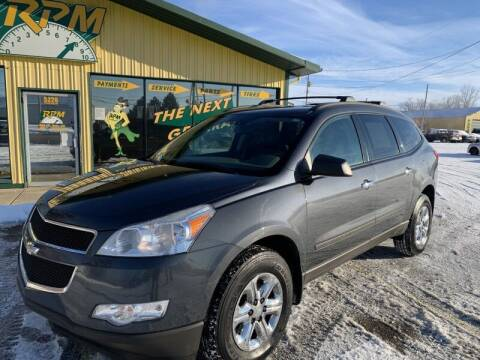 2011 Chevrolet Traverse for sale at RPM AUTO SALES in Lansing MI