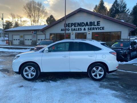 2015 Lexus RX 350 for sale at Dependable Auto Sales and Service in Binghamton NY