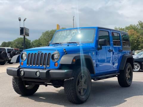 2011 Jeep Wrangler Unlimited for sale at Island Auto Off-Road & Sport in Grand Island NE