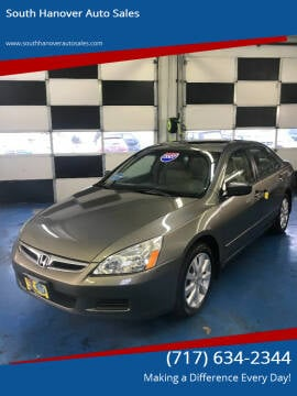 2007 Honda Accord for sale at South Hanover Auto Sales in Hanover PA