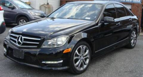 2014 Mercedes-Benz C-Class for sale at Trimax Auto Group in Baltimore MD