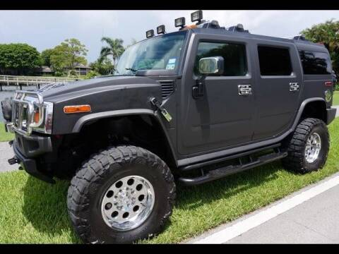 2004 HUMMER H2 for sale at The New Auto Toy Store in Fort Lauderdale FL