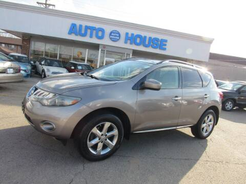 2009 Nissan Murano for sale at Auto House Motors in Downers Grove IL