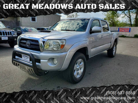 2008 Toyota Tacoma for sale at GREAT MEADOWS AUTO SALES in Great Meadows NJ