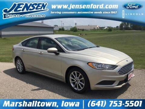 2017 Ford Fusion for sale at JENSEN FORD LINCOLN MERCURY in Marshalltown IA