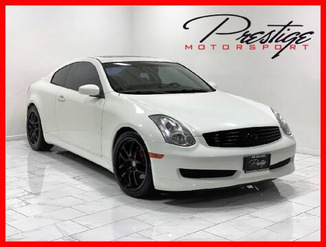 2006 Infiniti G35 for sale at Prestige Motorsport in Rancho Cordova CA
