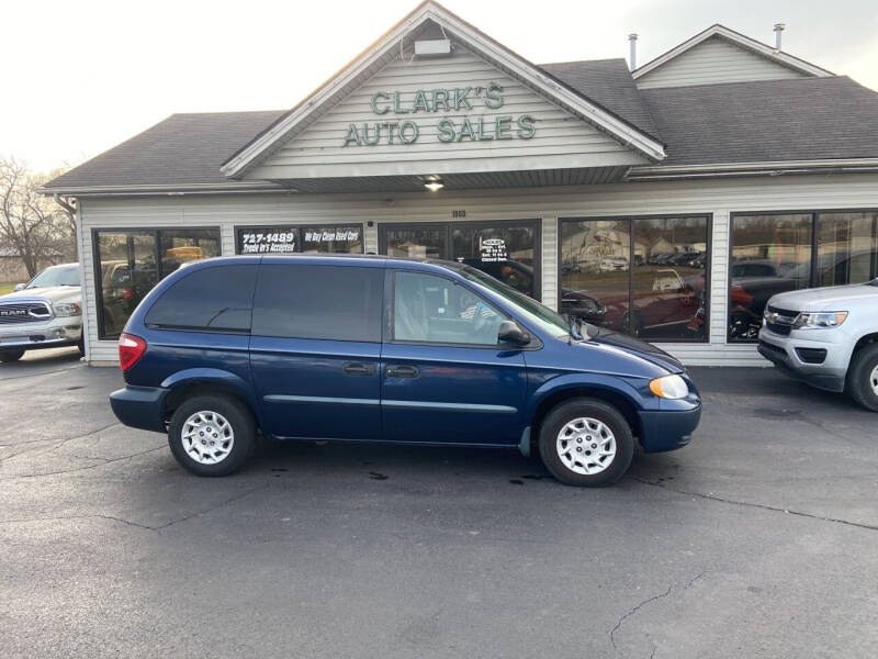 2002 Chrysler Voyager for sale at Clarks Auto Sales in Middletown OH