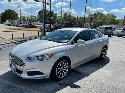 2016 Ford Fusion for sale at Smart Buy Car Sales in Saint Louis MO