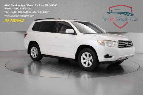 2009 Toyota Highlander for sale at Elvis Auto Sales LLC in Grand Rapids MI