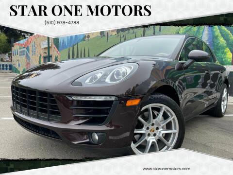 2016 Porsche Macan for sale at Star One Motors in Hayward CA