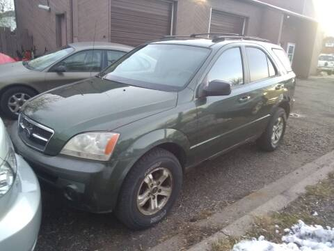 2004 Kia Sorento for sale at Continental Auto Sales in White Bear Lake MN
