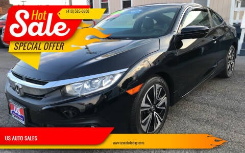 2016 Honda Civic for sale at US AUTO SALES in Baltimore MD