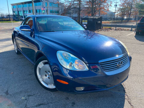 2003 Lexus SC 430 for sale at JerseyMotorsInc.com in Teterboro NJ