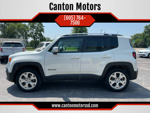 2016 Jeep Renegade for sale at Canton Motors in Canton SD