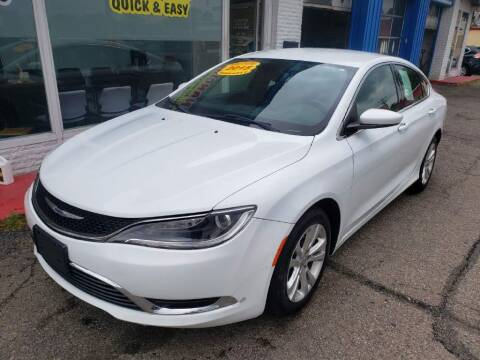 2015 Chrysler 200 for sale at AutoMotion Sales in Franklin OH