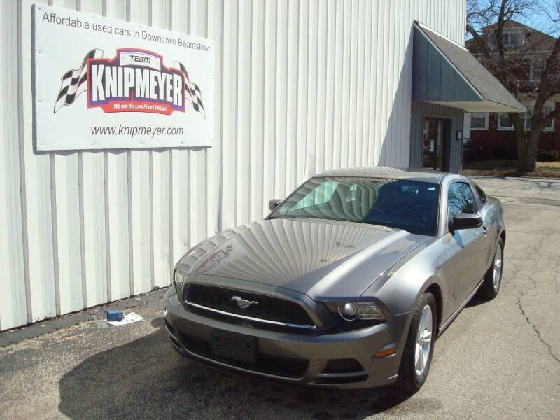 2014 Ford Mustang for sale at Team Knipmeyer in Beardstown IL