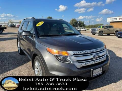 2015 Ford Explorer for sale at BELOIT AUTO & TRUCK PLAZA INC in Beloit KS