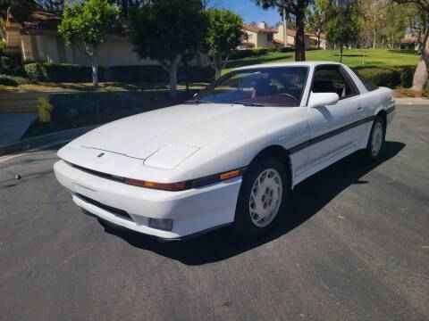 1987 Toyota Supra for sale at E MOTORCARS in Fullerton CA