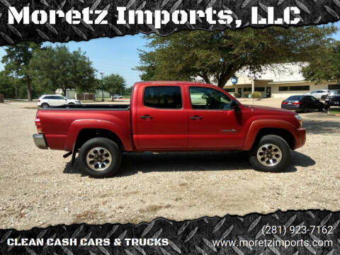 2008 Toyota Tacoma for sale at Moretz Imports, LLC in Spring TX
