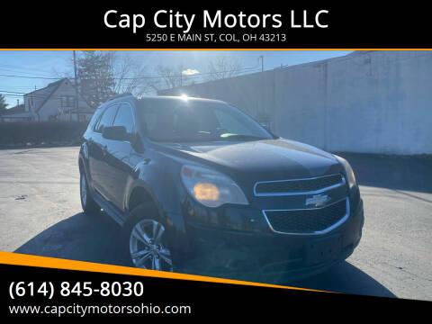 2010 Chevrolet Equinox for sale at Cap City Motors LLC in Columbus OH