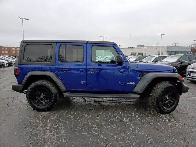 2018 Jeep Wrangler Unlimited for sale at Hawk Chevrolet of Bridgeview in Bridgeview IL