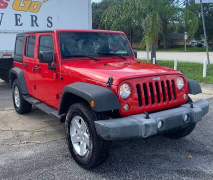 2016 Jeep Wrangler Unlimited for sale at Blum's Auto Mart in Port Orange FL