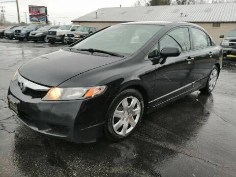 2011 Honda Civic for sale at KRIS RADIO QUALITY KARS INC in Mansfield OH