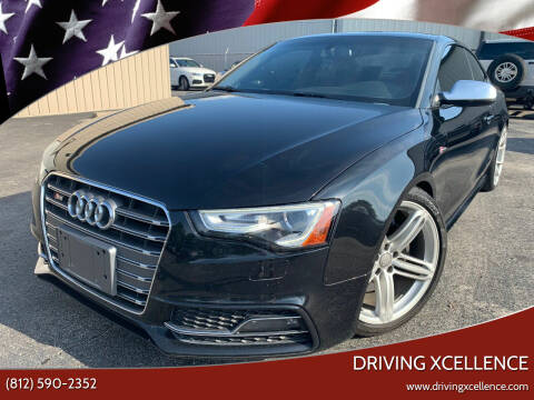 2013 Audi S5 for sale at Driving Xcellence in Jeffersonville IN