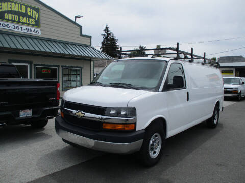 2016 Chevrolet Express Cargo for sale at Emerald City Auto Inc in Seattle WA
