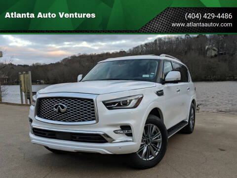 2021 Infiniti QX80 for sale at Atlanta Auto Ventures in Roswell GA