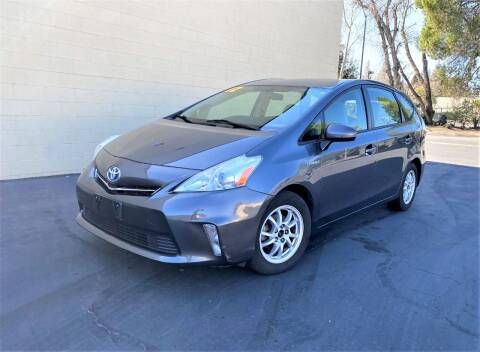 2012 Toyota Prius v for sale at TOP QUALITY AUTO in Rancho Cordova CA